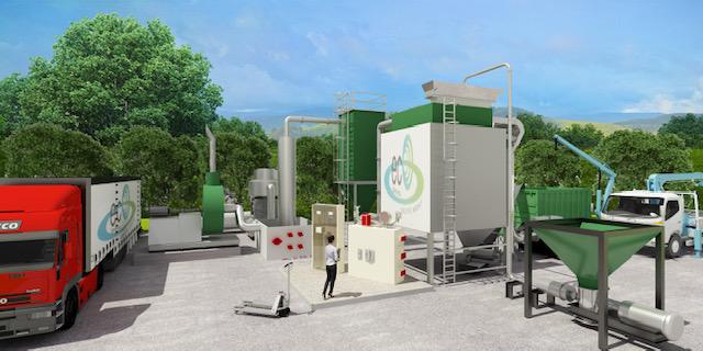 Eco.gamma Srl detiene lo sfruttamento del brevetto di innovazione di un impianto particolarmente innovativo per l'essiccamento fanghi denominato ECO-ISVED.